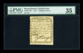 Colonial Notes:Massachusetts, Massachusetts 1779 1s/6d PMG Choice Very Fine 35....