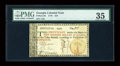 Colonial Notes:Georgia, Georgia 1776 $10 PMG Choice Very Fine 35....