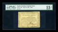 Colonial Notes:North Carolina, North Carolina May 10, 1780 $500 PMG Choice Fine 15 Net....