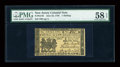 Colonial Notes:New Jersey, New Jersey June 22, 1756 1s PMG Choice About Unc 58 EPQ....