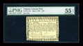Colonial Notes:Virginia, Virginia May 7, 1781 $10 PMG About Uncirculated 55 EPQ....