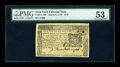 Colonial Notes:New York, New York March 5, 1776 $1/6 PMG About Uncirculated 53....