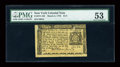 Colonial Notes:New York, New York March 5, 1776 $1/3 PMG About Uncirculated 53....