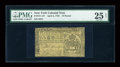 Colonial Notes:New York, New York April 2, 1759 L10 PMG Very Fine 25 NET....