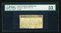 Colonial Notes:North Carolina, North Carolina May 15, 1779 $5 PMG About Uncirculated 53....