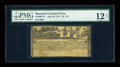 Colonial Notes:Maryland, Maryland July 26, 1775 $1 1/3 PMG Fine 12 NET....