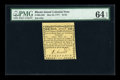 Colonial Notes:Rhode Island, Rhode Island May 22, 1777 $1/24 PMG Choice Uncirculated 64 EPQ....