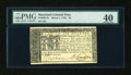 Colonial Notes:Maryland, Maryland March 1, 1770 $6 PMG Extremely Fine 40....