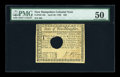 Colonial Notes:New Hampshire, New Hampshire April 29, 1780 $20 PMG About Uncirculated 50....