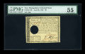 Colonial Notes:New Hampshire, New Hampshire April 29, 1780 $8 PMG About Uncirculated 55....