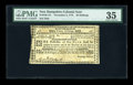 Colonial Notes:New Hampshire, New Hampshire November 3, 1775 30s PMG Choice Very Fine 35....