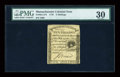 Colonial Notes:Massachusetts, Massachusetts 1779 5s PMG Very Fine 30....