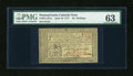 Colonial Notes:Pennsylvania, Pennsylvania April 10, 1777 16s PMG Choice Uncirculated 63....