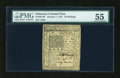 Colonial Notes:Delaware, Delaware January 1, 1776 20s PMG About Uncirculated 55....