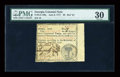 Colonial Notes:Georgia, Georgia June 8, 1777 $6 PMG Very Fine 30....