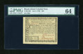 Colonial Notes:Rhode Island, Rhode Island July 2, 1780 $20 PMG Choice Uncirculated 64....