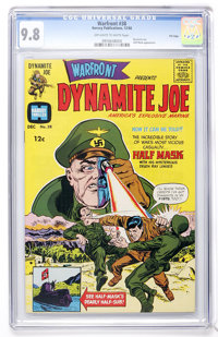 Warfront #38 File Copy (Harvey, 1966) CGC NM/MT 9.8 Off-white to white pages