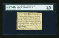 Colonial Notes:North Carolina, North Carolina December, 1771 £2 PMG Very Fine 25 Net....