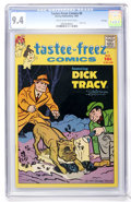 Silver Age (1956-1969):Miscellaneous, Tastee-Freez Comics #6 Dick Tracy - File Copy (Harvey, 1957) CGC NM 9.4 Cream to off-white pages....
