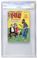 Magazines:Humor, Army & Navy Fun Parade #91 File Copy (Fun Parade, 1959) CGCVF/NM 9.0 Cream to off-white pages....