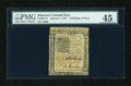 Colonial Notes:Delaware, Delaware January 1, 1776 2s/6d PMG Choice Extremely Fine 45....