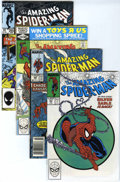 Modern Age (1980-Present):Superhero, The Amazing Spider-Man Long Box Group (Marvel, 1980s-'90s)Condition: Average VF....