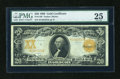 Large Size:Gold Certificates, Fr. 1186 $20 1906 Gold Certificate PMG Very Fine 25....