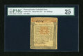 Colonial Notes:Pennsylvania, Pennsylvania March 20, 1771 10s PMG Very Fine 25....