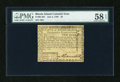 Colonial Notes:Rhode Island, Rhode Island July 2, 1780 $2 PMG Choice About Unc 58 EPQ....