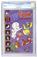Bronze Age (1970-1979):Cartoon Character, TV Casper and Company #46 File Copy (Harvey, 1974) CGC NM+ 9.6Off-white to white pages....