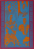 Music Memorabilia:Posters, Big Brother And The Holding Company Matrix Concert Poster(1967)....
