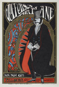 Music Memorabilia:Posters, Jefferson Airplane Edwardian Ball Fillmore Concert poster(1967)....
