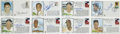 Autographs:Others, Baseball Hall of Famers Signed First Day Covers Lot of 8....(Total: 8 items)