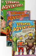 Golden Age (1938-1955):Science Fiction, Strange Adventures #31, 32, and 49 Group (DC, 1953-54).... (Total:3 Comic Books)