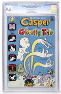 Bronze Age (1970-1979):Cartoon Character, Casper and the Ghostly Trio #3 File Copy (Harvey, 1973) CGC NM+ 9.6Off-white to white pages....