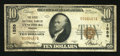 National Bank Notes:Virginia, Lynchburg, VA - $10 1929 Ty. 1 The First NB Ch. # 1558. ...