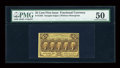 Fractional Currency:First Issue, Fr. 1282 25c First Issue PMG About Uncirculated 50....