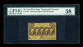 Fractional Currency:First Issue, Fr. 1279 25c First Issue PMG Choice About Unc 58....