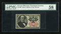 Fractional Currency:Fifth Issue, Fr. 1308 25c Fifth Issue PMG Choice About Unc 58....