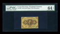 Fractional Currency:First Issue, Fr. 1228 5c First Issue PMG Choice Uncirculated 64 EPQ....