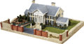 Music Memorabilia:Memorabilia, Elvis Presley's Beloved Graceland, In Miniature....
