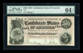 Confederate Notes:1864 Issues, T64 $500 1864 PF-1 Cr. 489.. ...