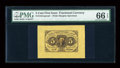 Fractional Currency:First Issue, Fr. 1231SP 5c First Issue Wide Margin Face PMG Gem Uncirculated 66 EPQ....