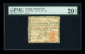 Colonial Notes:Georgia, Georgia June 8, 1777 $3 PMG Very Fine 20 NET....