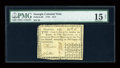 Colonial Notes:Georgia, Georgia 1776 $1/4 PMG Choice Fine 15 Net. ...
