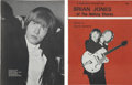 Music Memorabilia:Autographs and Signed Items, Brian Jones Signed Fan Magazine (Panther Books, 1964)....