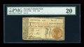 Colonial Notes:Georgia, Georgia 1776 $10 PMG Very Fine 20....
