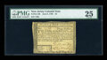 Colonial Notes:New Jersey, New Jersey June 9, 1780 $3 PMG Very Fine 25....