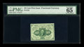 Fractional Currency:First Issue, Fr. 1242 10c First Issue PMG Gem Uncirculated 65 EPQ....
