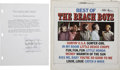 Music Memorabilia:Autographs and Signed Items, Beach Boys Autographs (1967)....